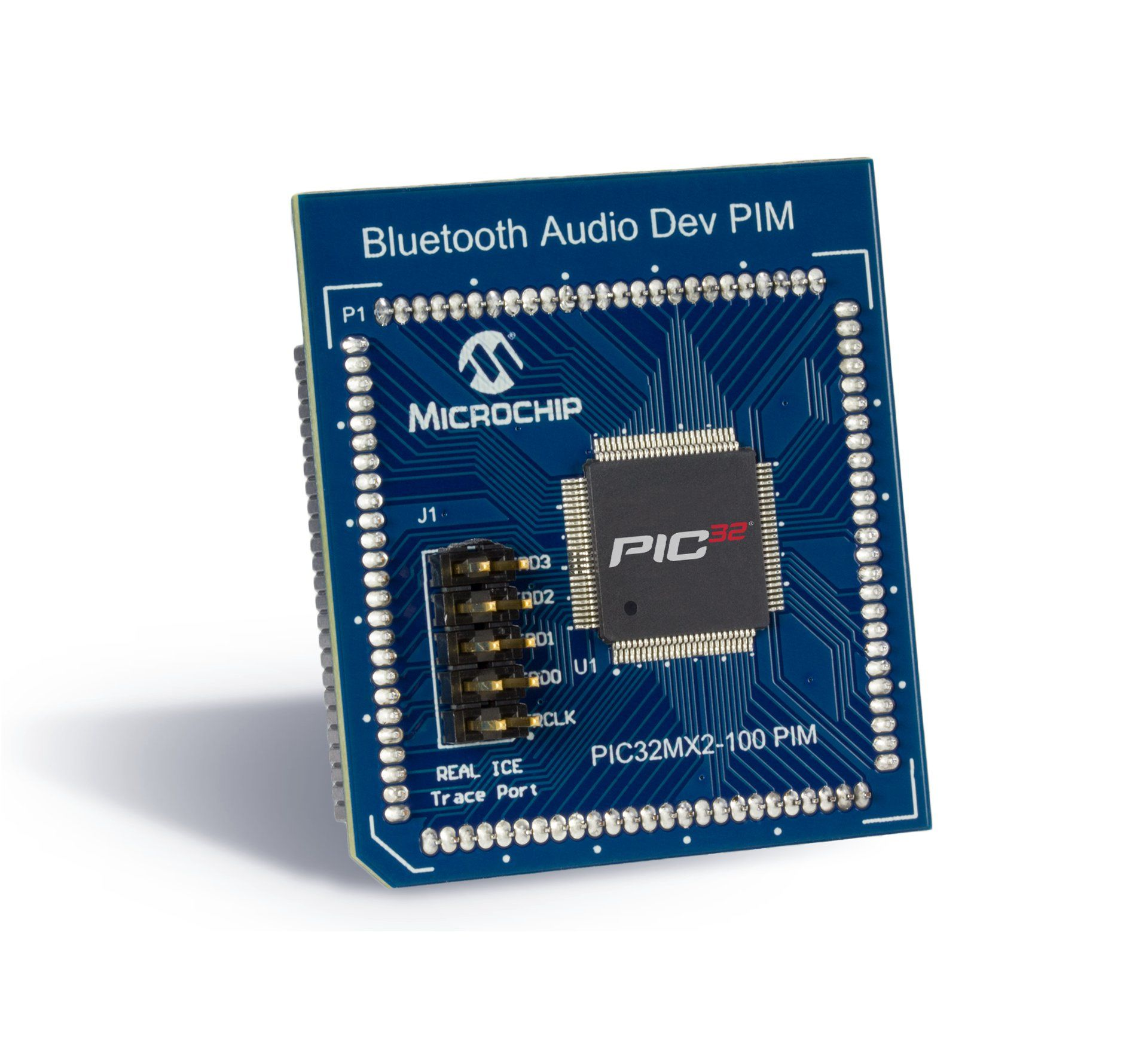 Architecture 32 Bit Pic Microcontrollers Microchip Technology Usb Player Circuit Diagram Also Programmer On Avr Pic32mx274f256 Pim For Bluetooth Audio Development Kit
