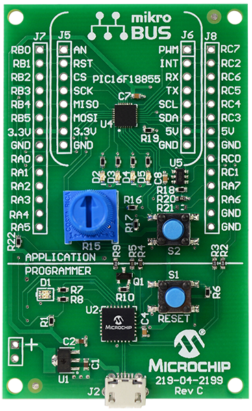 MPLAB Xpress Evaluation Board