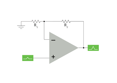 MCU8-DIAG-Non-Inverting-Amplifier