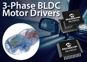 3-Phase BLDC Motor Drivers