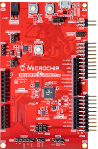 PIC32CM MC00 Curiosity Pro Development Board