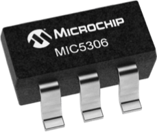 Black Package for MIC5306 micropower, µCap low dropout regulator