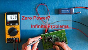 Zero Power? Infinite Problems.