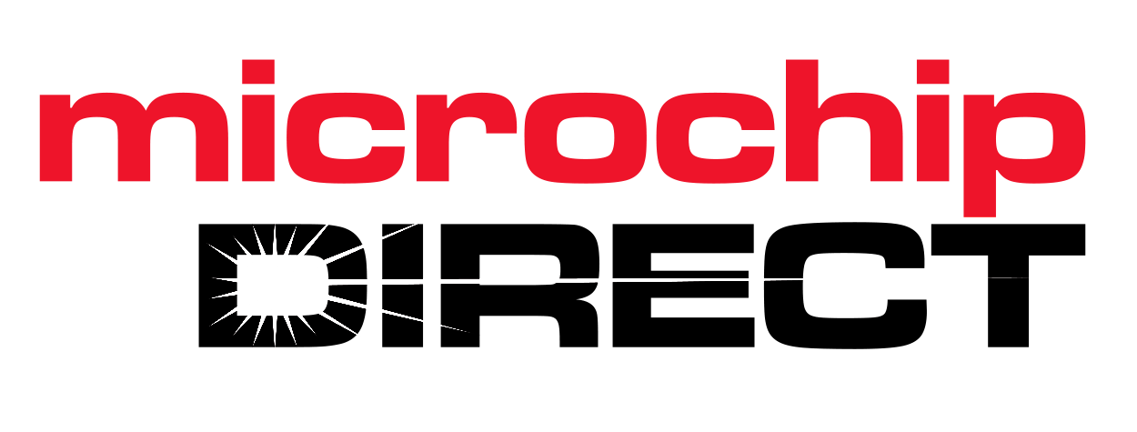 microchip direct logo outlined red
