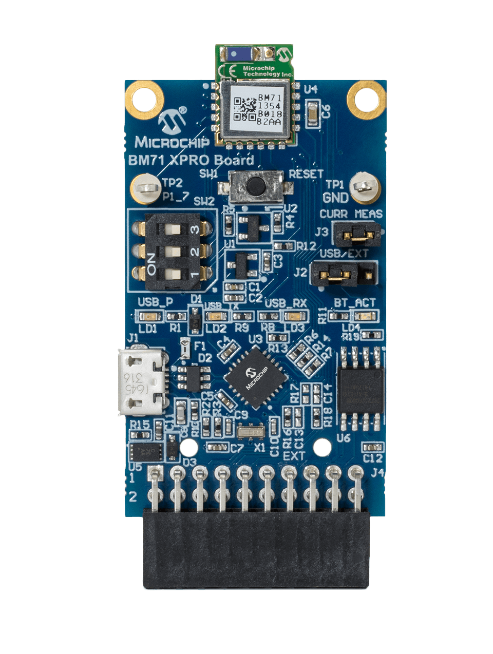 WSG DM164146 BM71 Xplained Pro Development Board
