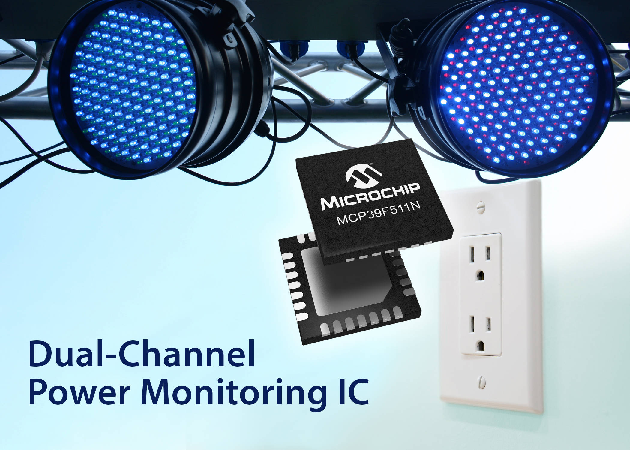 New Power Monitoring Ic From Microchip Provides Highly Accurate Real Factor Measurement Circuit Using Pic Microcontroller 160120 Msld Pr Mcp39f511n 7x5