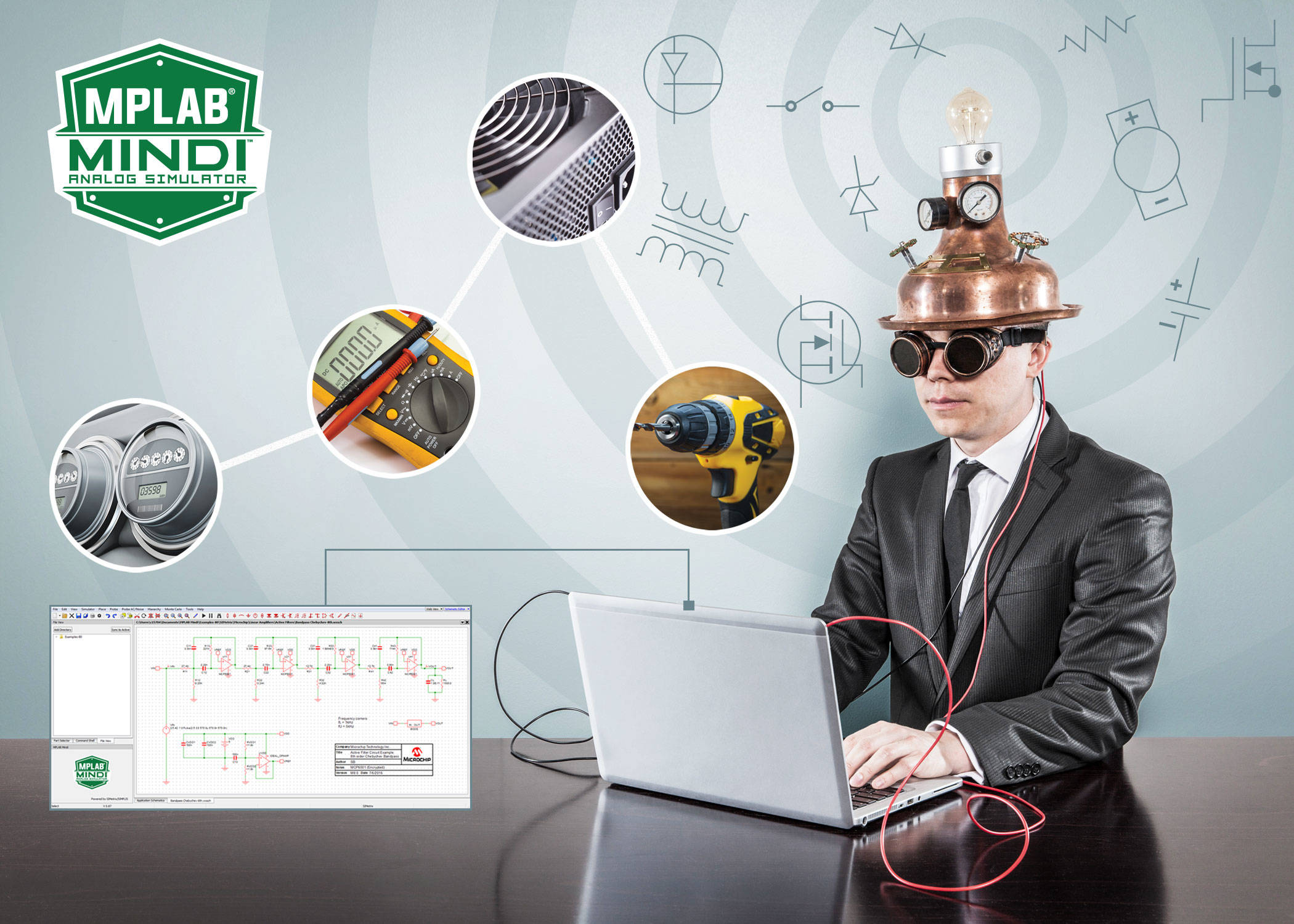 Reduce Risk And Time To Market With Microchips Mplab Mindi Circuit Simulator For Analog Digital Mcu Mixed Simulation 170915 Apid Pr 7x5