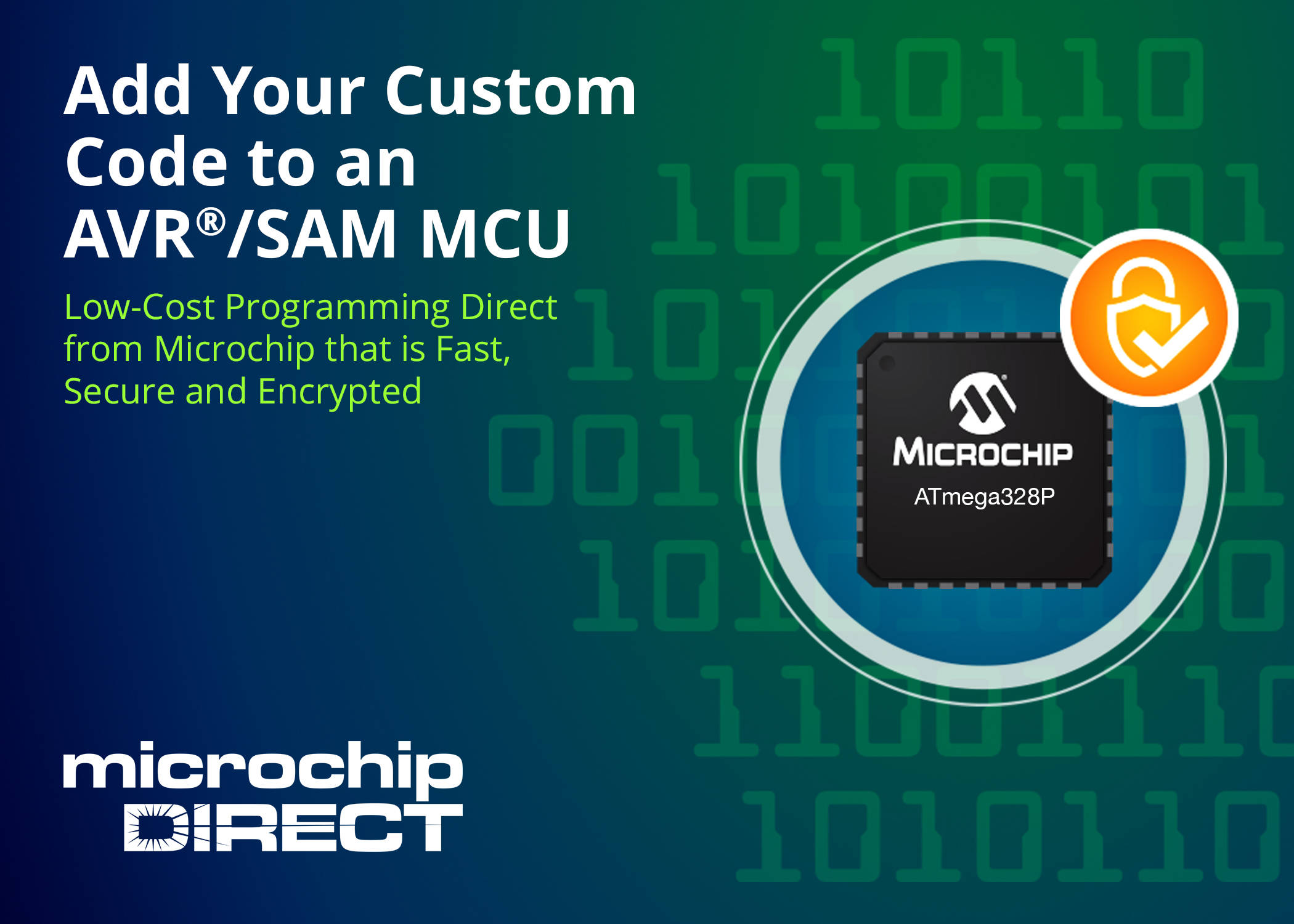 microchipDIRECT AVR and SAM MCU Custom Programming