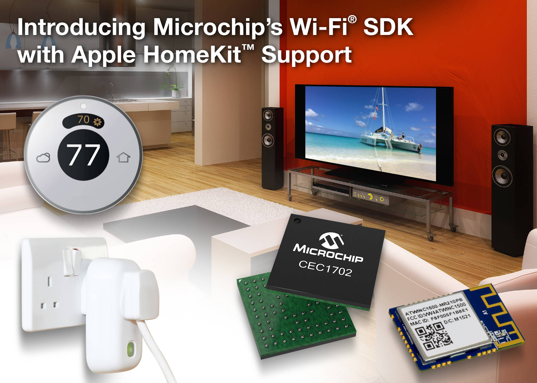microchip\u0027s wi fi® sdk with apple homekit support now available