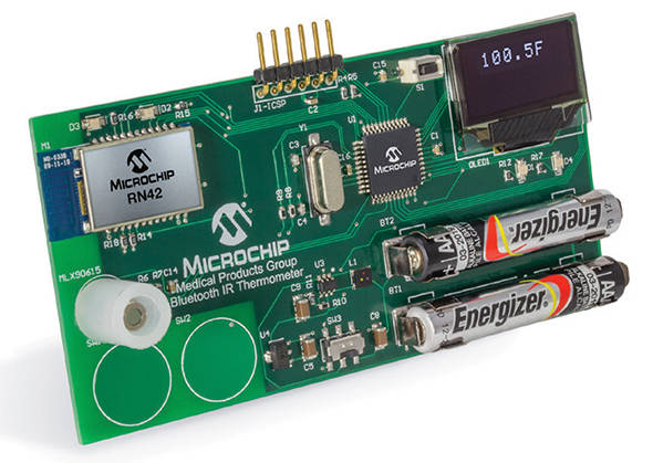 connected thermo demo board