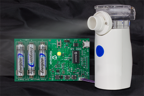 MPG-PHOTO-Microchip Nebulizer Demonstration Board