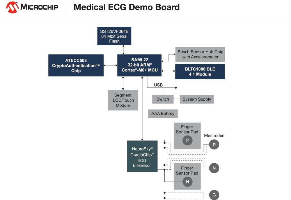 Medical ECG Demo Board